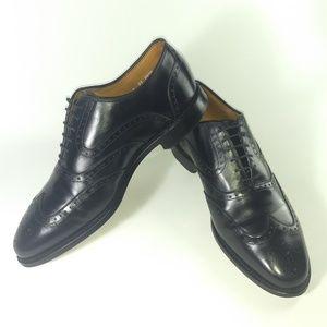 Allen Edmonds McClain Oxford Black Leather Wingtip